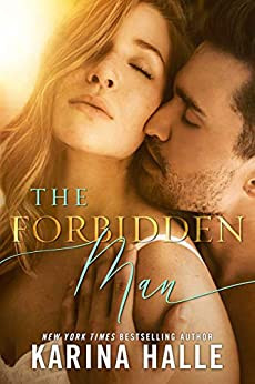 The Forbidden Man Book Cover Older Woman Younger Man Story