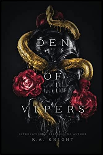Book Cover Den of Viper Reverse Harem Book