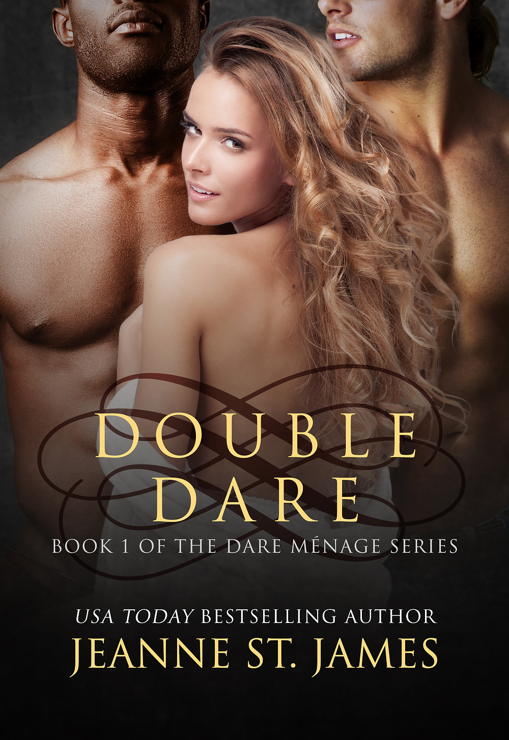 Book Cover Double Dare Jeanne St James MMF Erotic Romance Series