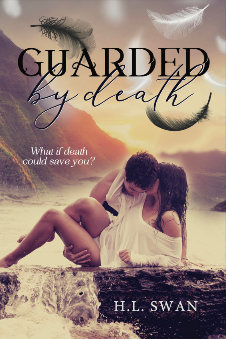 Book Cover of Guarded by Death of author HL Swan
