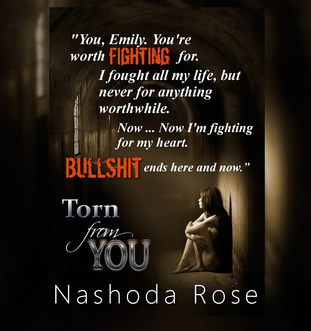 Excerpt of Dark Erotic Romance Novel Torn from You by Nashoda Rose