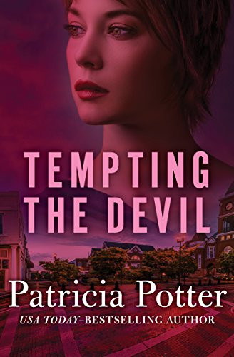 Mafia Romance Novel Cover picture showing a young woman. Tempting the Devil by USA Today Bestelling Author Patricia Potter