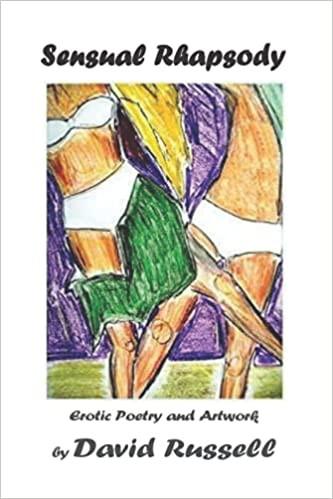 Book Cover Sensual Rhapsody Erotic Poetry and Artwork by David Russel