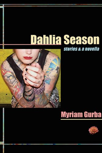 Sex Positive Book Dahlia Season Cover showing a woman with tattoos