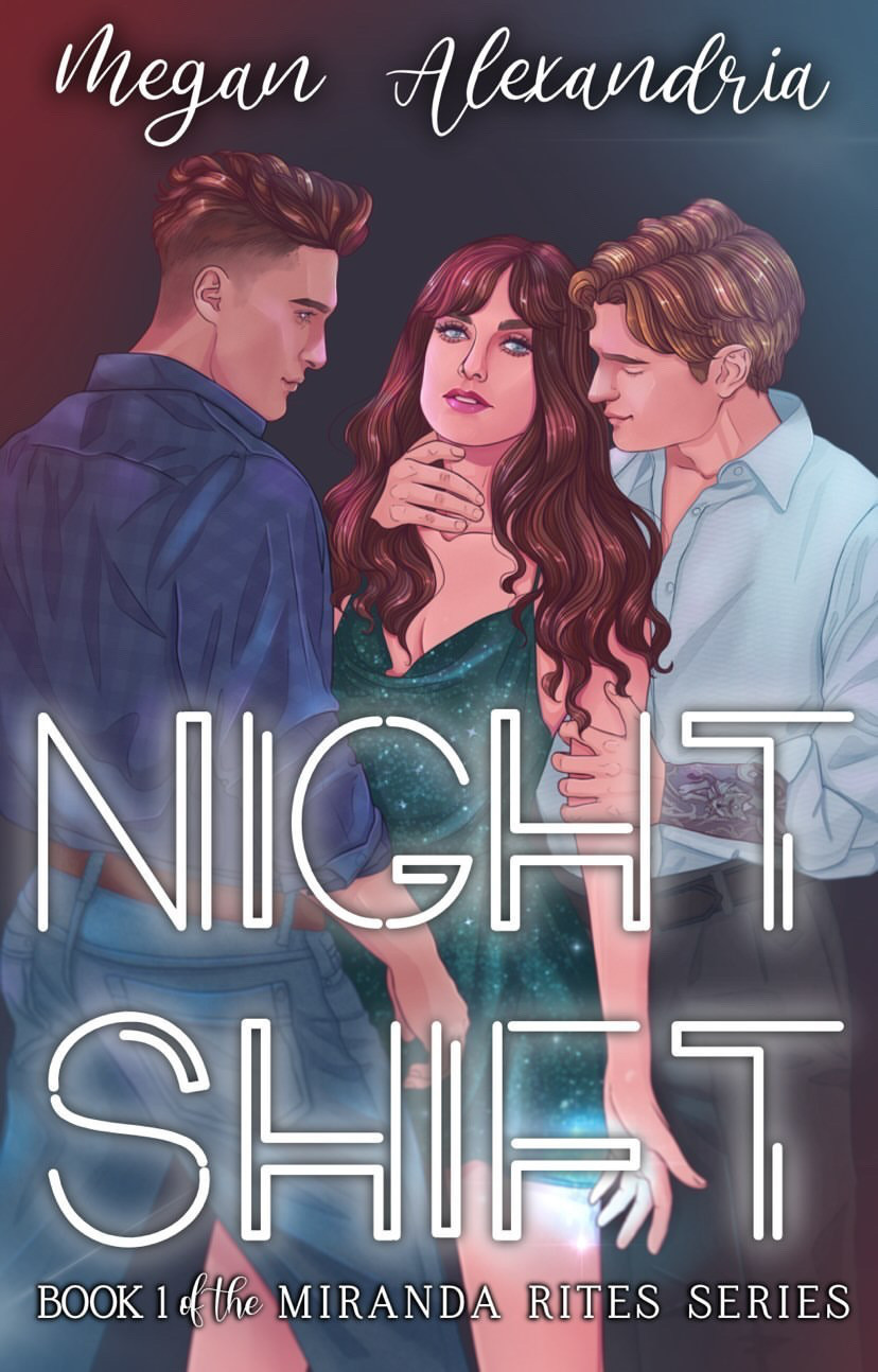 Dark Paranormal Erotic Romance Night Shift Cover by Megan Alexandria