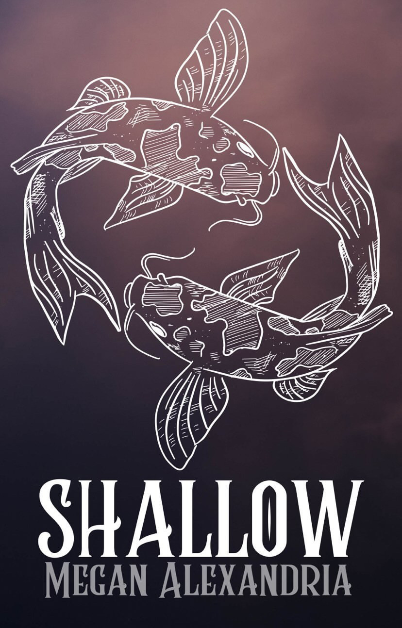 Picture of the Cover of the Love Poetry Book Shallow by Megan Alexandria