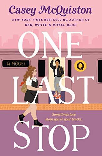 Cover of Lesbian Romance Novel One Last Stop