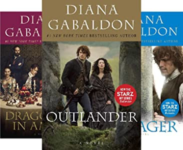 Cover pictures of the Outlander Series. Best Historical Erotic Romance Series
