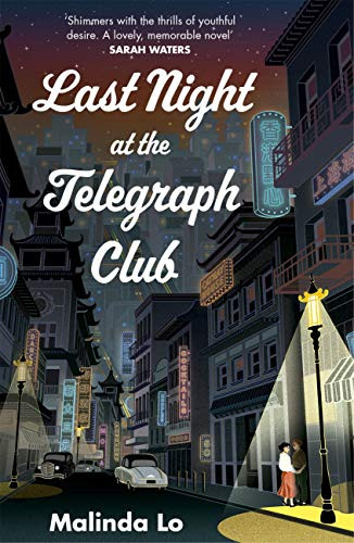 Cover of Lesbian Romance Book Last Night at the Telegraph club