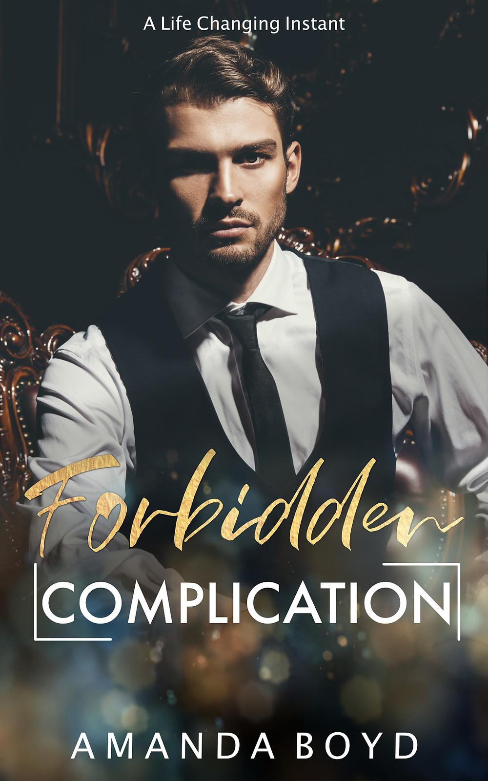 Cover of Forbidden Complication by Amanda Boyd Free Erotic Romance Ebook