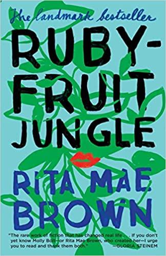 Cover of Lesbian Book Rubyfruit Jungle