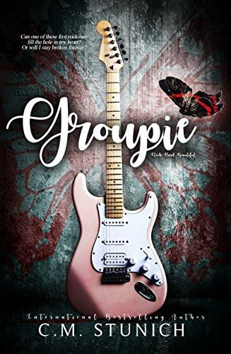 Book Cover of Groupie Erotic Reverse Harem Book