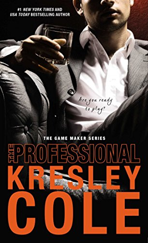Hot male Mafia member with a drink on Mafia Romance Book Cover The Professional by Kresley Cole