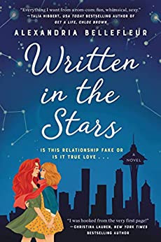 Sexy and Erotic Lesbian Novel Written in the Stars Book Cover