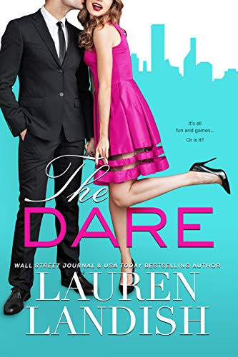 The Dare by Lauren Landish. Erotic Romance Book Cover from the best of Erotic Romance of all time list.