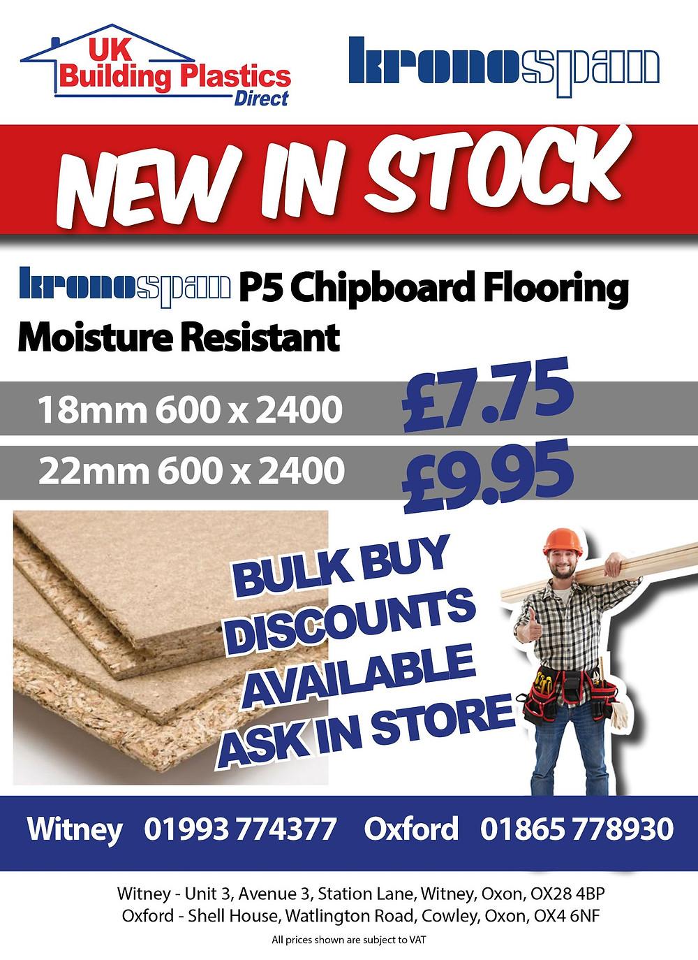 Chipboard Flooring - Witney - Oxford