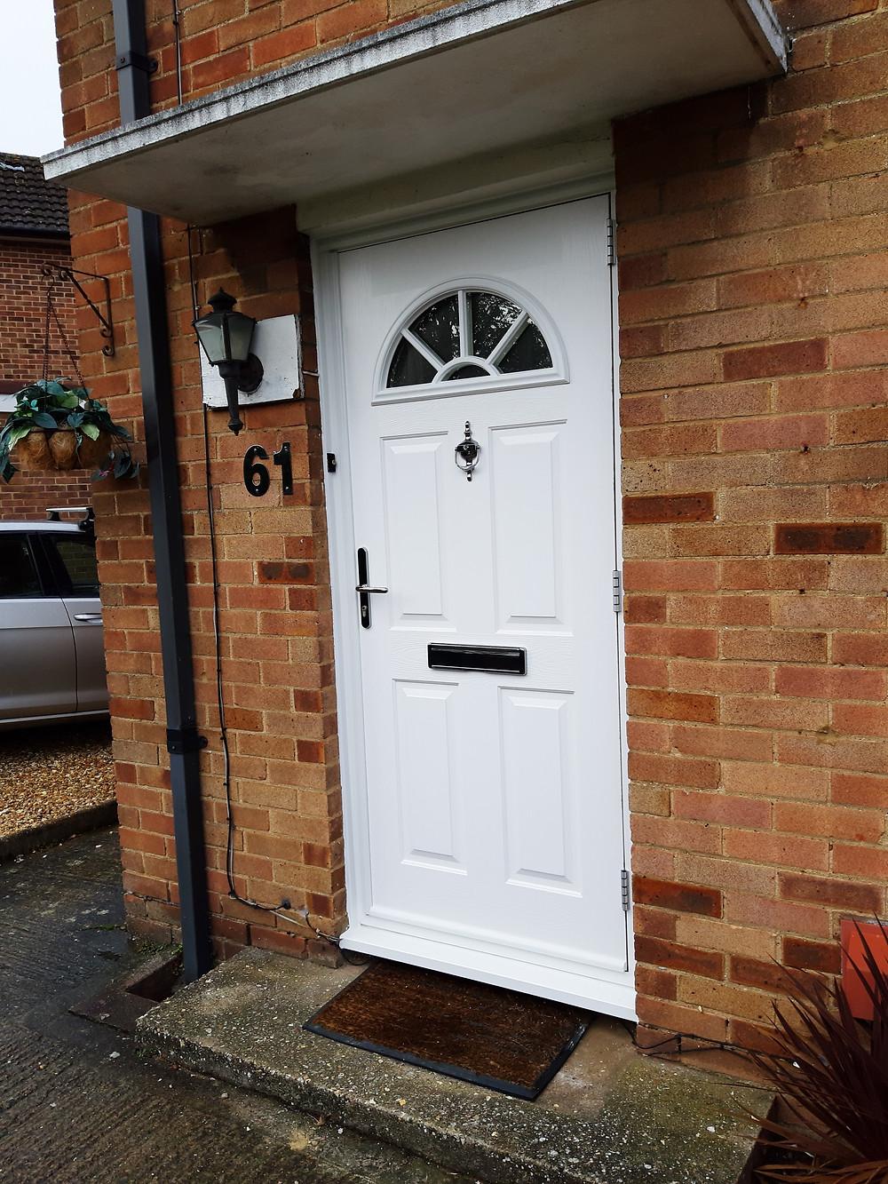 Solidor - Front Door - Witney - Oxford - UK Building Plastics Direct