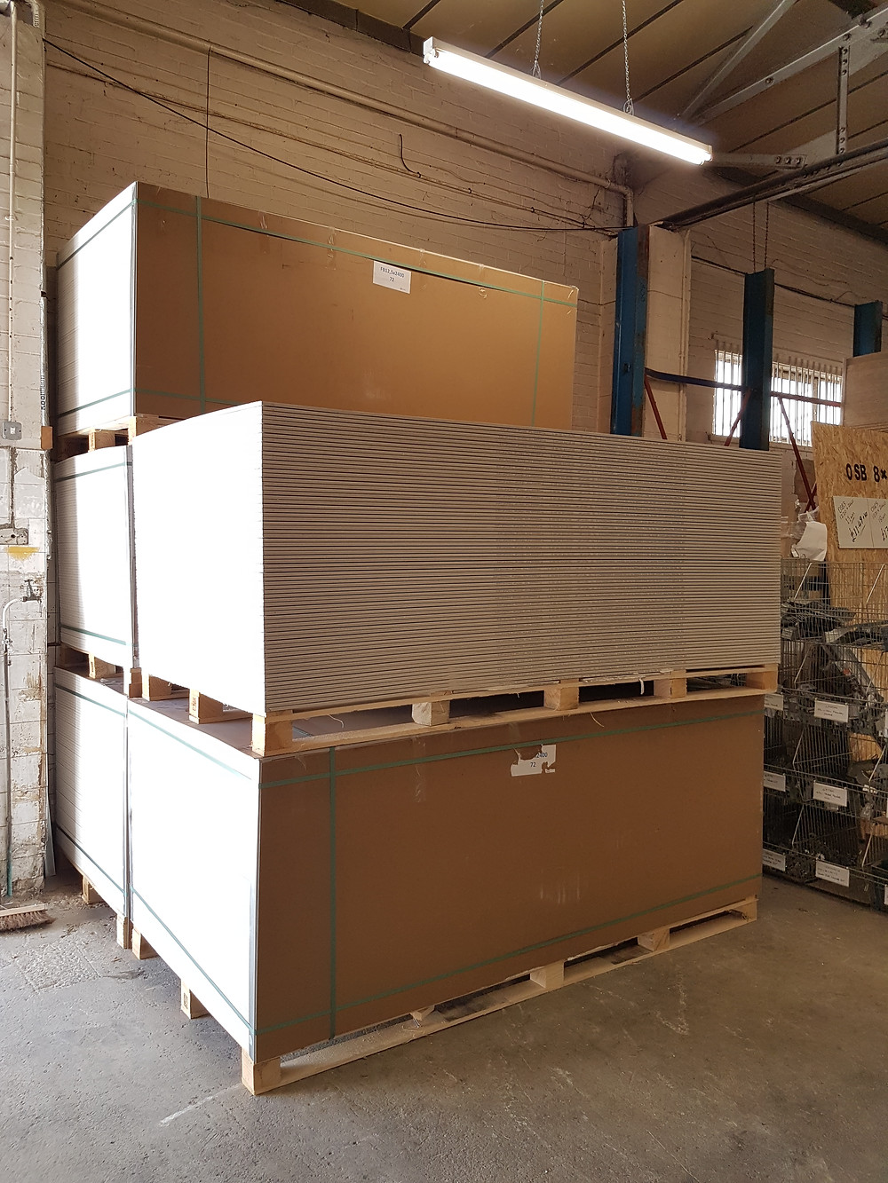 Plasterboard - Witney - Oxford - UK Building Plastics Direct