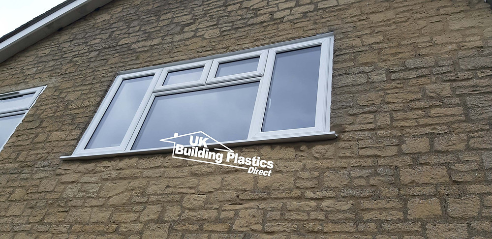White UPVC Window in Charlbury, Oxfordshire