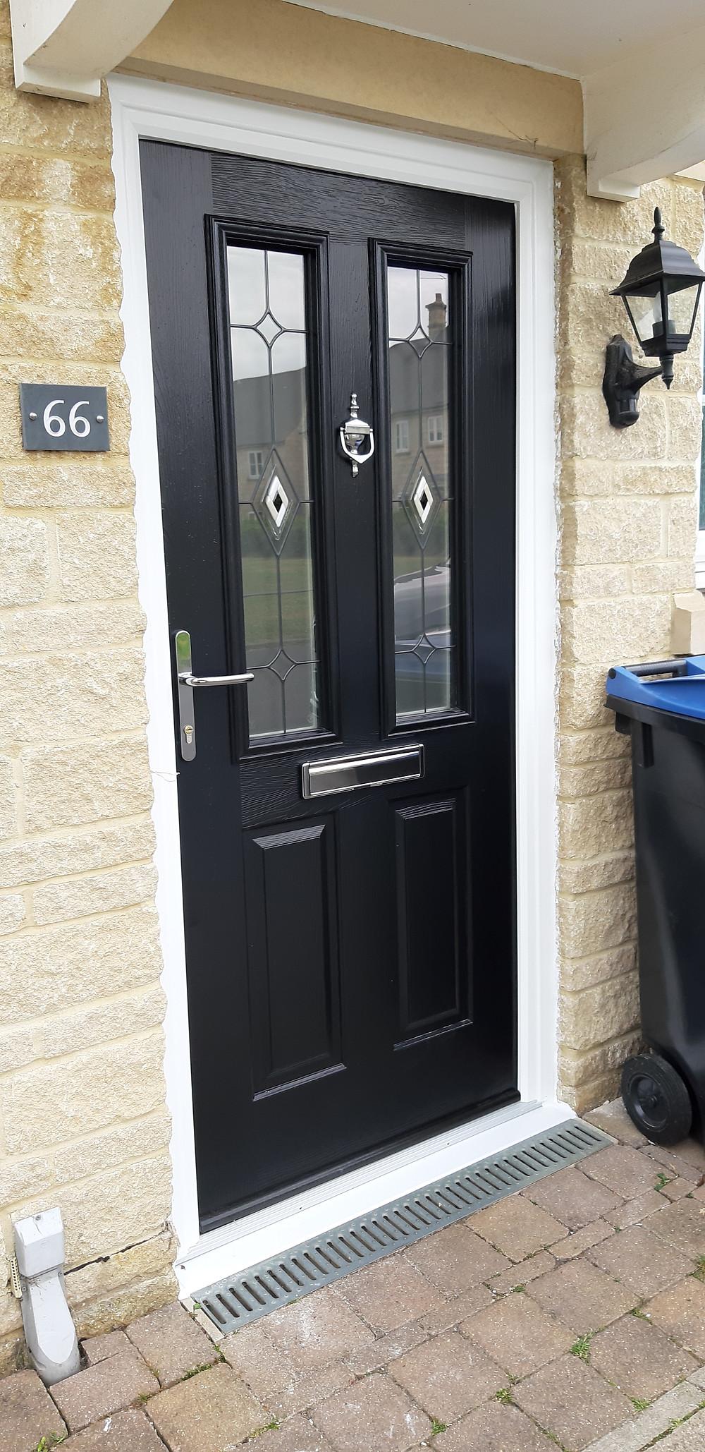 Solidor Composite Front Door Witney Oxfordshire