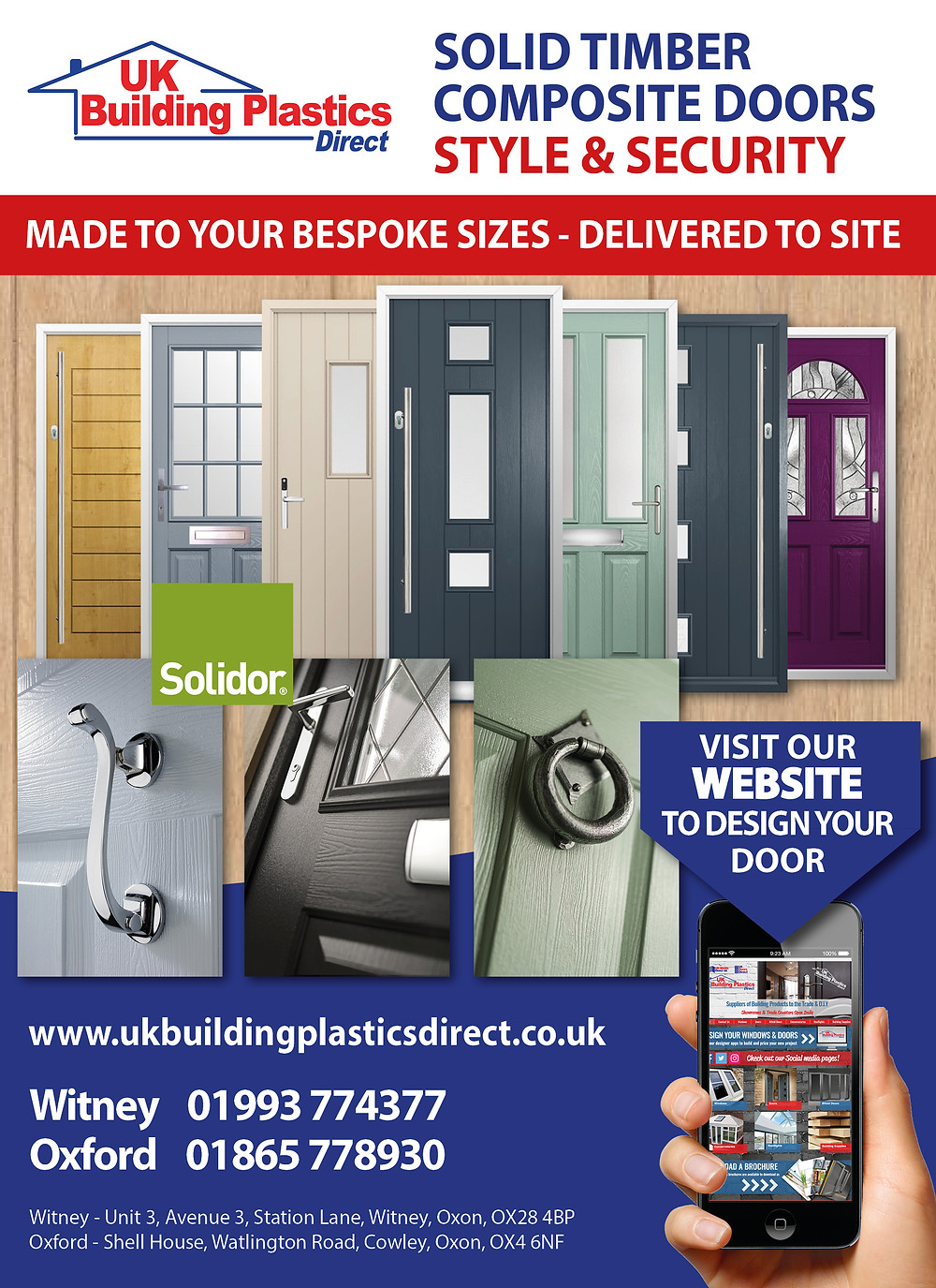 Solidor composite door - UK Building Plastics Direct - Witney - Cowley