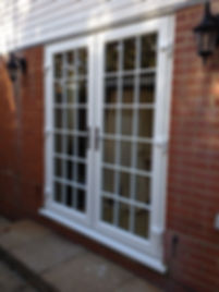 UPVC French Doos