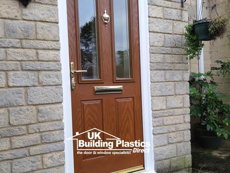 Composite door installation in Lechlade, Gloucestershire