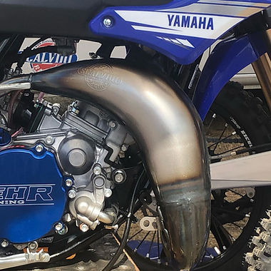 Scalvini USA 2-Stroke Factory Stamped Race Pipes