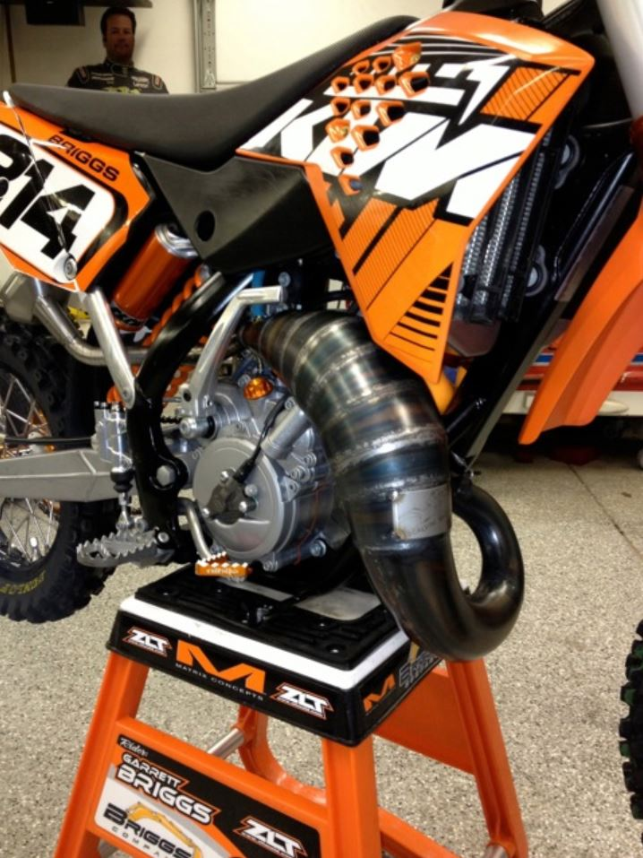 Scalvini Pipes USA KTM 65