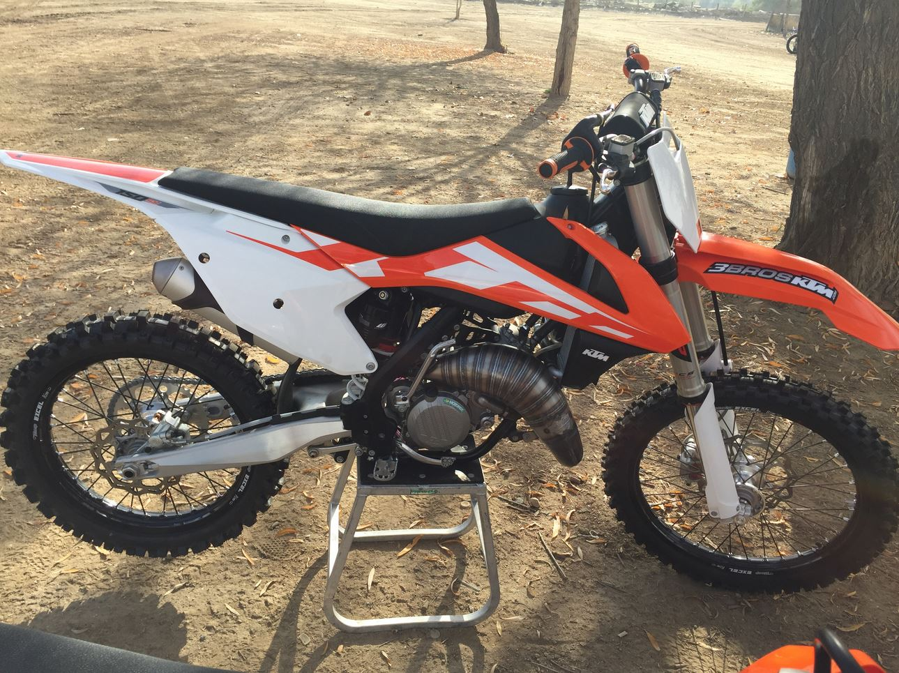 Scalvini Pipes USA KTM2016 SX125 NR3