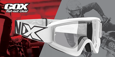 GOX Flat Out Clear Goggles