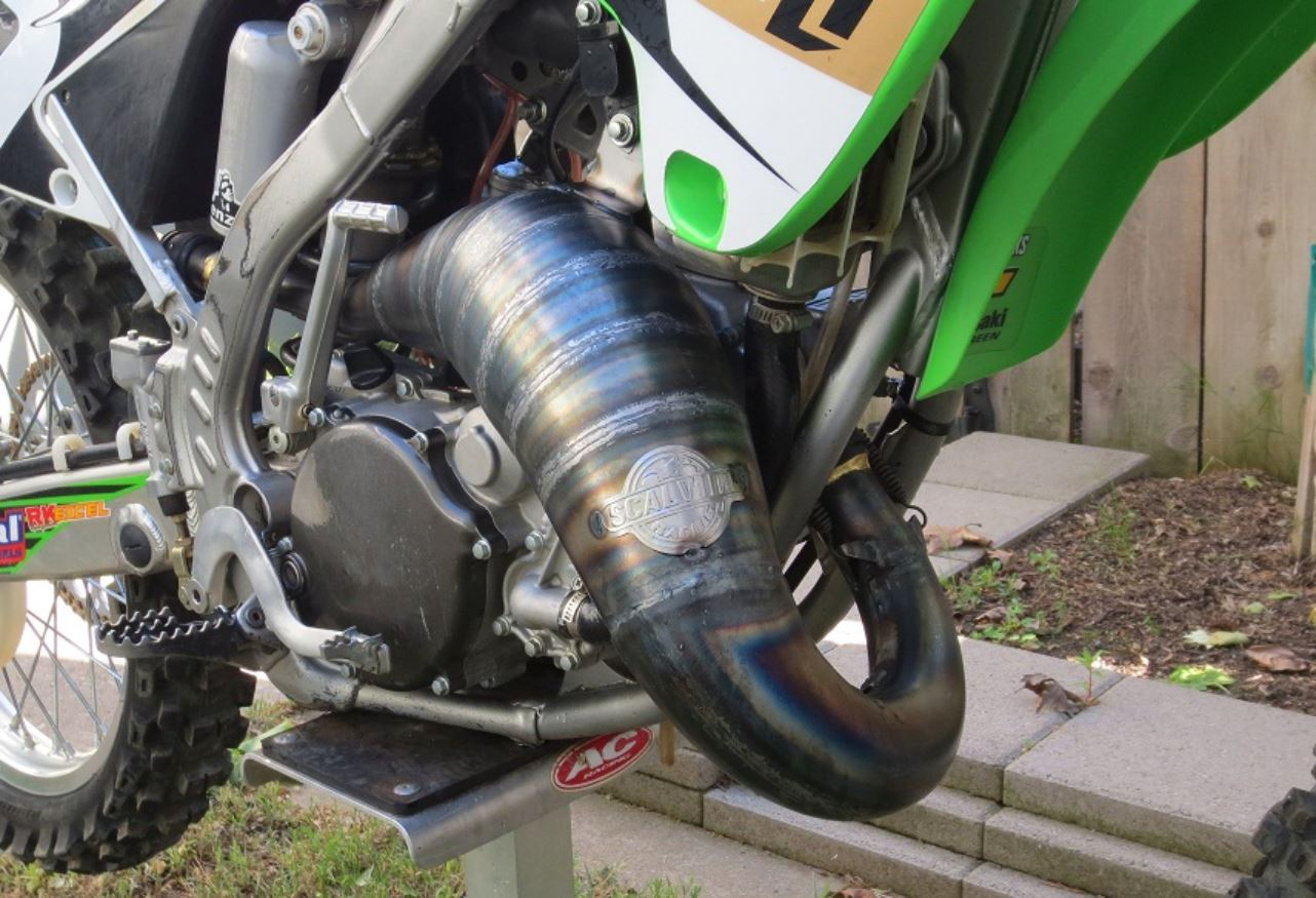 Scalvini Pipes USA Kawasaki KX125