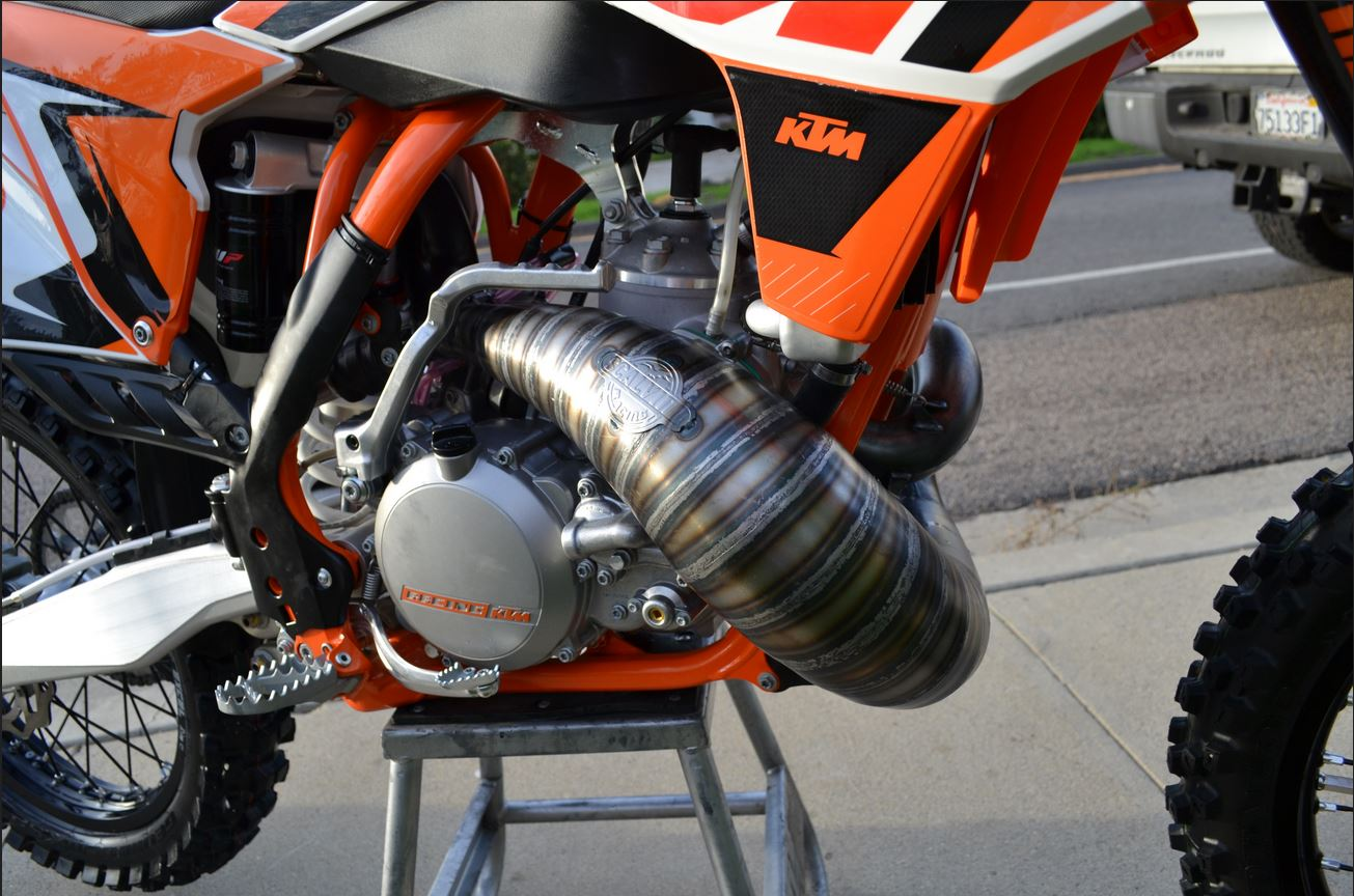 Scalvini Pipes USA KTM 2015 300SX