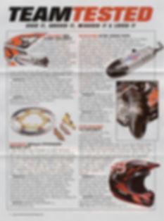 Scalvini Pipe for KTM 125 SX MXA Magazine Test April 2013