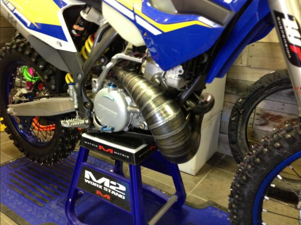 Scalvini Husaberg 250-300 Pipe Silencer
