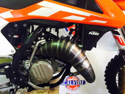 Scalvini Pipes USA KTM 2016 SX125
