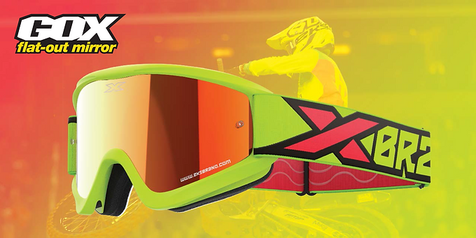 GOX Flat Out Mirror Goggles