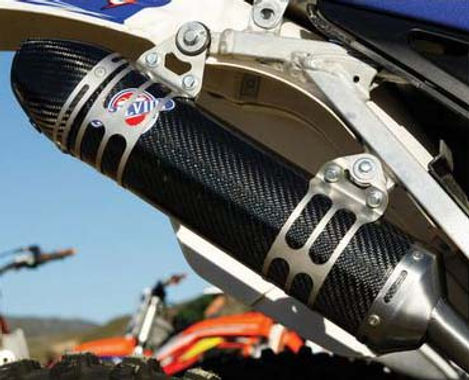 Scalvini USA 2-Stroke Factory Full Carbon Shorty Race Silencers