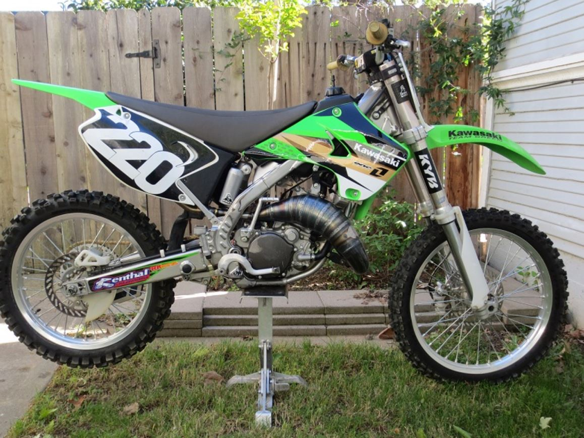 Scalvini Pipeis USA Kawasaki KX125