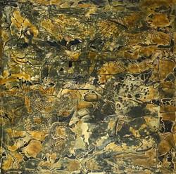 10-18_ x 18_ - mixed media on wood - $2000