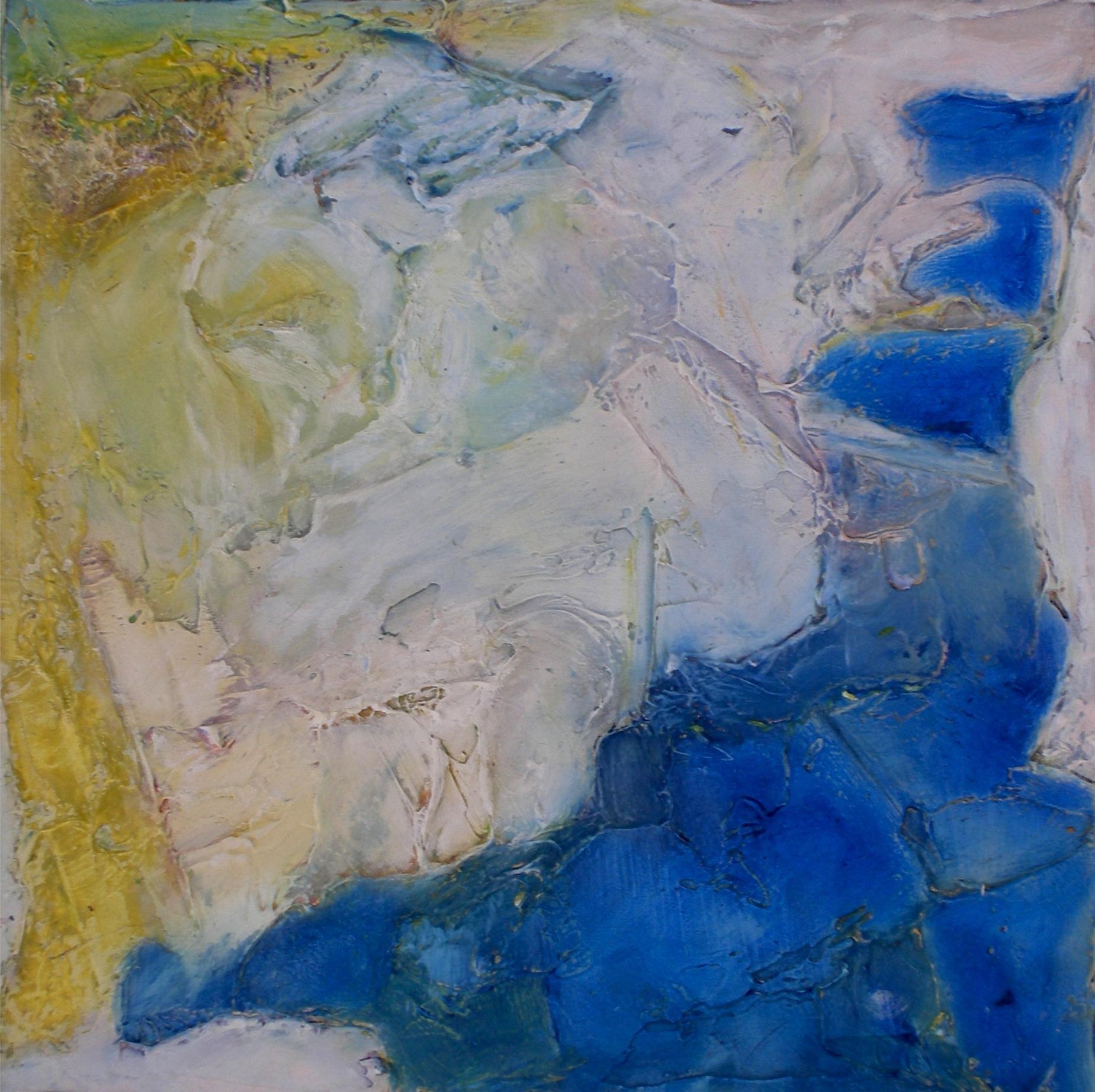 Winter Blues Triptych III