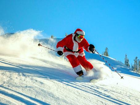 Не забывайте наносить солнцезащитный крем, даже когда катаетесь на лыжах в горах.