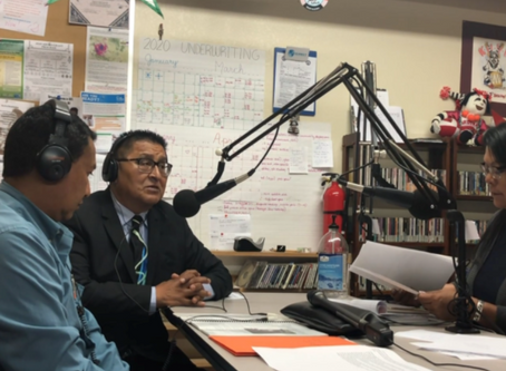 Battling lack of resources, Native stations provide lifeline with COVID coverage