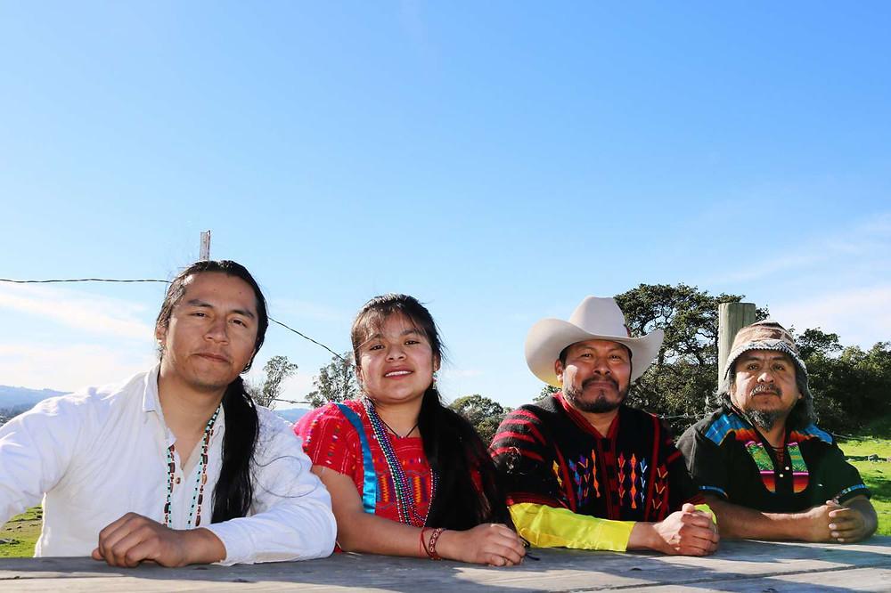 Maribel Merino :: Pictured: Xulio Soriano, Maribel Merino , Fausto Gusman and Gervacio Peña López