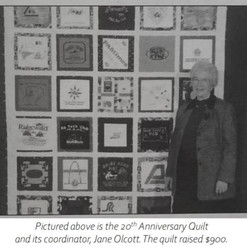 20th Anniversary Quilt