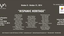 """LATINO ART MUSEUM """"HISPANIC HERITAGE"""" exhibit"""