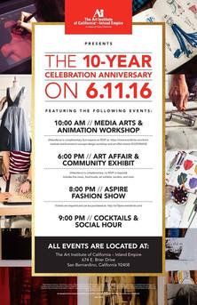 Art Institute of California-Inland Empire 10 year Anniversary Event