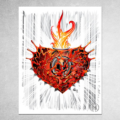 Passion from Within Print