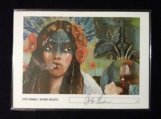 Gypsy Woman Print  #007