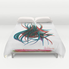 NEW HIPPIEONE BED COVERS @ society6.com